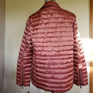 Badgley Mischka Jackets & Coats - New Badgley Mischka Mia Puffer Biker Jacket Size M